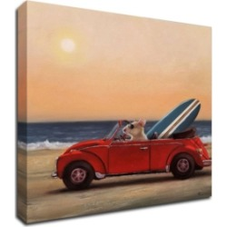 Tangletown Fine Art Beach Bound by Lucia Heffernan Print on Canvas, 30