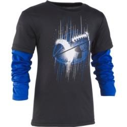 Under Armour Little Boys Football Graphic Slider Shirt