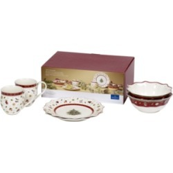 Villeroy & Boch Toys Delight 6 Piece White Breakfast Set