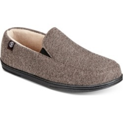 Isotoner Men's Moccasin Slippers With Memory Foam