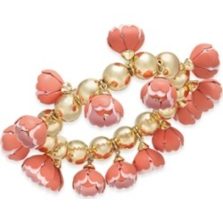 Inc Gold-Tone 3D Flower Stretch Bracelet, Created for Macy's found on Bargain Bro Philippines from Macy's for $33.37