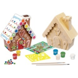 Masterpieces Works of Ahhh, Gingerbread House Paint Kit