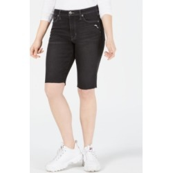 Kendall + Kylie Frayed-Hem Bermuda Shorts found on MODAPINS from Macy's for USD $29.99