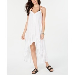 Raviya Crochet-Trim High-Low Cover-Up Dress Women's Swimsuit found on Bargain Bro India from Macys CA for $34.21