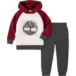Timberland Little Boys Fleece Hoody and Fleece Pant Set, 2 Piece found on Bargain Bro India from Macy's for $59.50