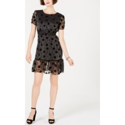 Betsey Johnson Polka-Dot Metallic Fit & Flare Dress found on Bargain Bro India from Macys CA for $92.20