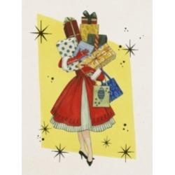 Grace Popp Vintage Christmas Ii Canvas Art - 27