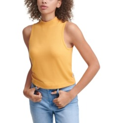 Calvin Klein Jeans Sleeveless Mock Neck Top found on MODAPINS from Macy's for USD $19.99
