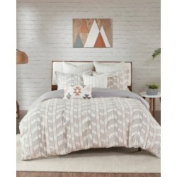 Ink+Ivy Suri 3-Piece Full/Queen Cotton Jacquard Duvet Cover Set Bedding found on Bargain Bro from Macy's for USD $173.75