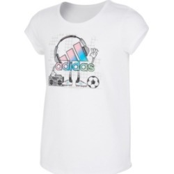 adidas Big Girls Short Sleeve Scoop Neck T-shirt found on MODAPINS from Macy's for USD $25.00
