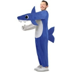 BuySeasons Adult Chompin' Daddy Shark Costume With Sound Chip