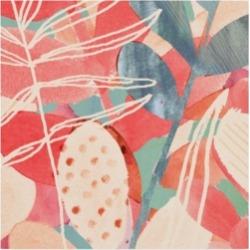 "Victoria Borges Tropical Assemblage Ii Canvas Art - 20"" x 25"""