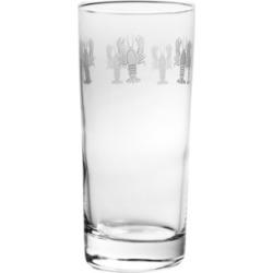 Rolf Glass Lobster Pod Cooler Highball 15Oz - Set Of 4 Glasses