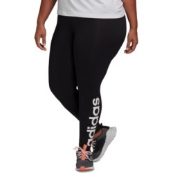adidas Women's Plus Size Essentials Tights found on MODAPINS from Macy's for USD $35.00
