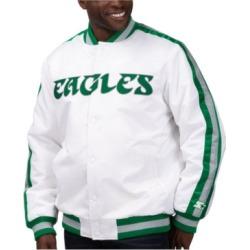 Starter Men's Philadelphia Eagles The D-Line Starter Satin Jacket