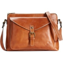 Patricia Nash Avellino Smooth Leather Crossbody found on Bargain Bro India from Macys CA for $178.39