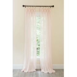 Manor Luxe La Rosa Metallic Semi Sheer Rod Pocket Curtain Collection found on Bargain Bro India from Macys CA for $104.95