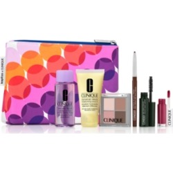 Choose your Free 6 pc gift with $75 Clinique purchase! (up to a $77 value)