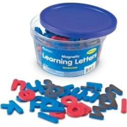 Learning Resources Magnetic Soft Lowercase Learning Letters