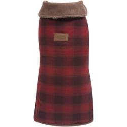 Pendleton Red Ombre Plaid Dog Coat, Medium