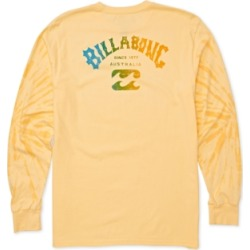 Billabong Men's Tie-Dye Arch Logo Graphic Shirt