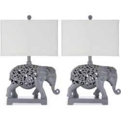 Safavieh Set of 2 Hathi Table Lamps found on Bargain Bro from Macy's for USD $166.44