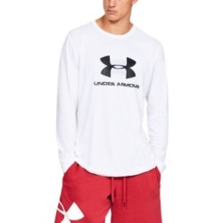 Under Armour Men's Sportstyle Logo Long Sleeve found on Bargain Bro India from Macy's for $30.00