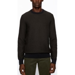 Boss Men's Arubyno Regular-Fit Sweater found on MODAPINS from Macy's for USD $158.00