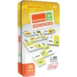 Junior Learning Equivalence Dominoes Match and Learn Educational Learning Game