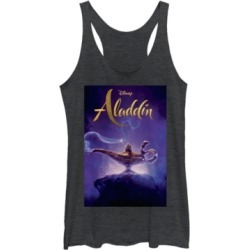 Disney Juniors' Aladdin Aladdin Live Action Cover Tri-Blend Tank Top found on MODAPINS from Macy's for USD $27.99