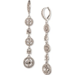Givenchy Silver-Tone Crystal Linear Drop Earrings found on Bargain Bro India from Macy's for $49.30