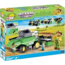 Cobi Action Town Eco Power Combine Harvester 350 Piece Construction Blocks Building Kit