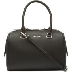 Calvin Klein Mercy Leather Satchel found on MODAPINS from Macy's for USD $106.80