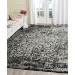 Safavieh Evoke EVK256R Black/Grey 3' x 5' Area Rug found on Bargain Bro Philippines from Macy's for $60.00