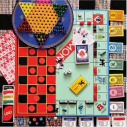 Springbok Puzzles Board Games 100 Piece Jigsaw Puzzle