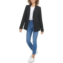 Calvin Klein Jeans One-Button Blazer found on MODAPINS from Macy's for USD $77.70