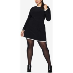 Hanes Curves Plus Size Opaque Tights found on Bargain Bro Philippines from Macy's for $12.00