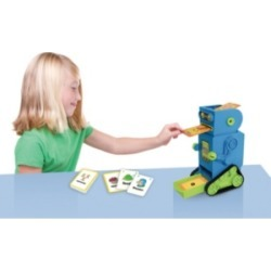 Junior Learning Flashbot Flash Card Robot Includes 20 Demonstration Flash Cards