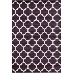 Bridgeport Home Arbor Arb1 Purple 6' x 9' Area Rug found on Bargain Bro India from Macy's for $155.50