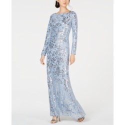 Vince Camuto Sequined Lace Gown