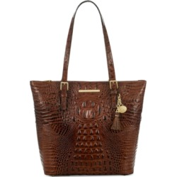 Brahmin Asher Melbourne Embossed Leather Tote found on Bargain Bro India from Macy's for $295.00