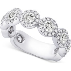 Diamond Halo Band (2 ct. t.w.) in 14k White Gold found on Bargain Bro India from Macy's for $6800.00