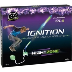 Toysmith NightZone Ignition Light Up Launch Rockets