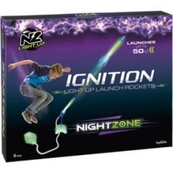 Toysmith NightZone Ignition Light Up Launch Rockets