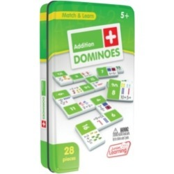 Junior Learning Addition Dominoes Match and Learn Educational Learning Game