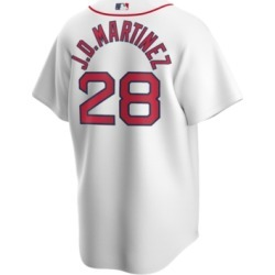 Nike Men's J.d. Martinez Boston Red Sox Official Player Replica Jersey found on Bargain Bro India from Macy's for $135.00