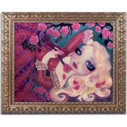 Natasha Wescoat 'Little Briar Rose' Ornate Framed Art - 16