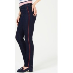 Charter Club Piping-Trim Straight-Leg Jeans, Created for Macy's found on MODAPINS from Macy's Australia for USD $42.15