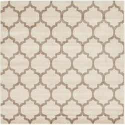 Bridgeport Home Arbor Arb1 Beige/Tan 6' x 6' Square Area Rug found on Bargain Bro India from Macy's for $194.00