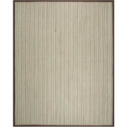 Safavieh Natural Fiber Teal and Brown 8' x 10' Sisal Weave Rug found on Bargain Bro Philippines from Macy's for $384.00